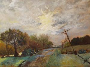Follow the Road, Oil by Nancy M. Wing, Size 18in x 24in, $435 (August 2017)