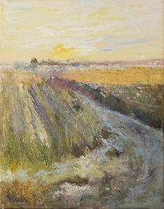 Harvest, Oil by Nancy M. Wing, Size 14in x 11in, $300 (August 2017)