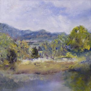 A View from the Overlook, Oil by Nancy M. Wing (December 2012)