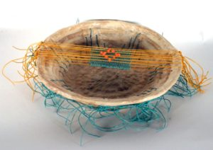 Playing Turquoise, Fiber by Passle Helminski (December 2012)