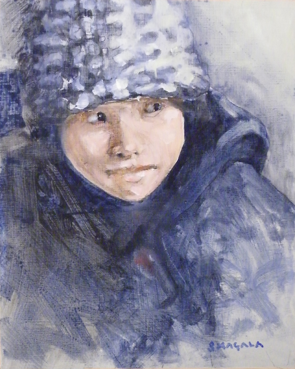 FIRST PLACE: Sienna, Oil on Panel by Tom Smagala (December 2012)