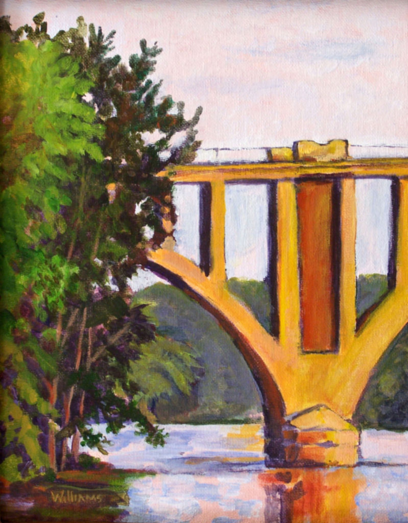 Rappahannock Railroad Bridge by Nancy Williams (CBTC: Oct. 2017-Jan. 2018)