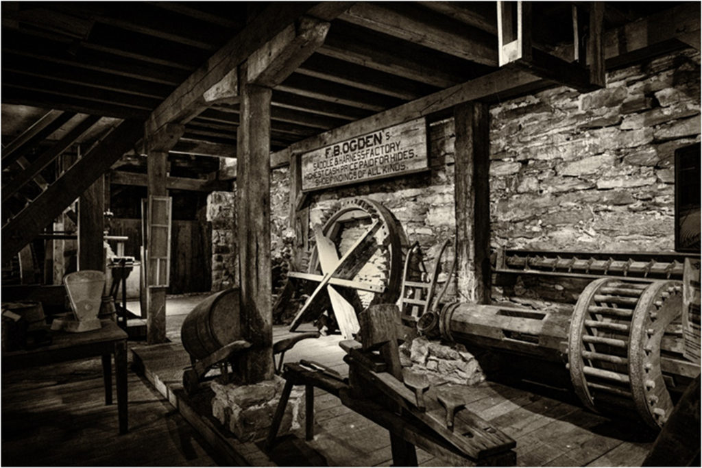 HONORABLE MENTION: Saddlery, Photography by Matthew DeZee, 12in x 18in, $195 (February 2018)