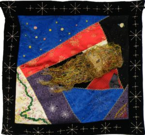 Quilt Dream, Quilt-crazy by Cynthia Siira, 23inx23in (March 2013)