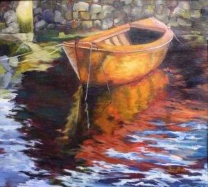 Still Waters, Oil by Penny Hicks, 18in x 20in (July 2013)