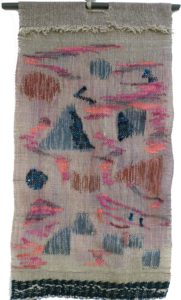Tapestry II, Fiber Wire and Paint by Florence Ridderhof, 25in x 13in (April 2013)