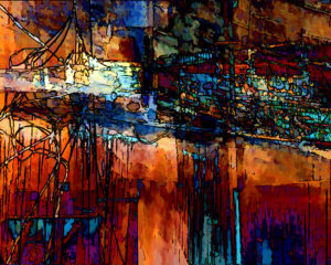 The Bridge, Metallic Print by Carolyn R. Beever, 16in x 20in (May 2013)