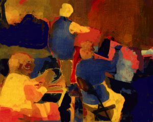 The Painters, Digital Painting by Carolyn R. Beever (March 2013)