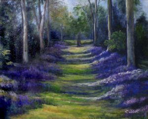 The Path, Acrylic by Lynn Abbott, 16in x 20in (August 2013)