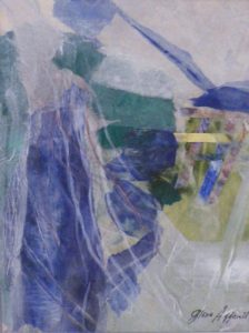 The Weavers, Mixed Media by Gloria G. Affenit, Unframed 8in. x 5in.- Framed 18in. x 14in. (April 2013)