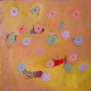 Pink, Red, Yellow, Blue..., Oil by Ana Rendich (September 2013)