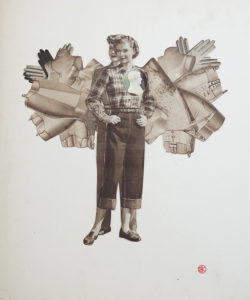 After You, Hand-cut Collage by Blythe King (September 2013)