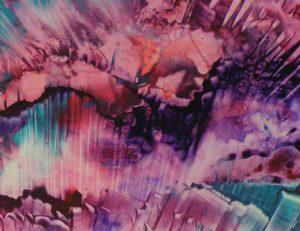 Ice Crystals, Acrylic by Christina Boechler (September 2013)
