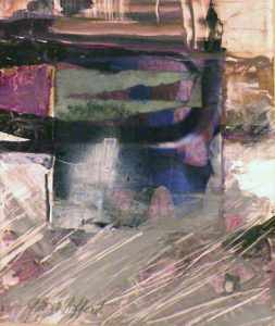 Muted Jazz, Mixed media by Gloria Affenit (September 2013)