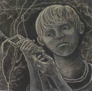 The Hope of the Future, Mixed Dry Media by Phyllis Graudszus (September 2013)