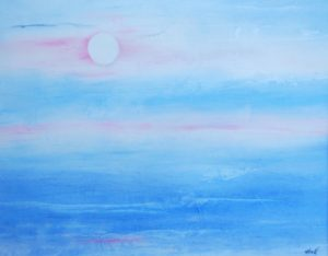 Blue Sky, Acrylic by Ray Abell (September 2013)