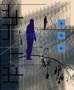 Considering Divine Abstraction, Digital Printmaking by Robert S. Hunter (September 2013)
