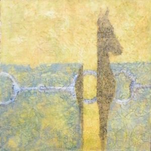 Equine Layers V, Acrylic layers by Robyn Ryan (September 2013)