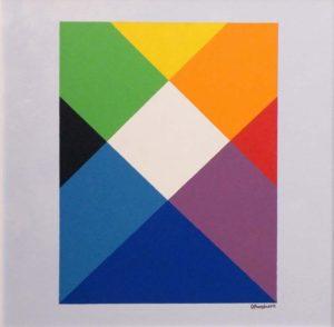 Rainbow 2, Acrylic by Ted J. Ostrowski (September 2013)