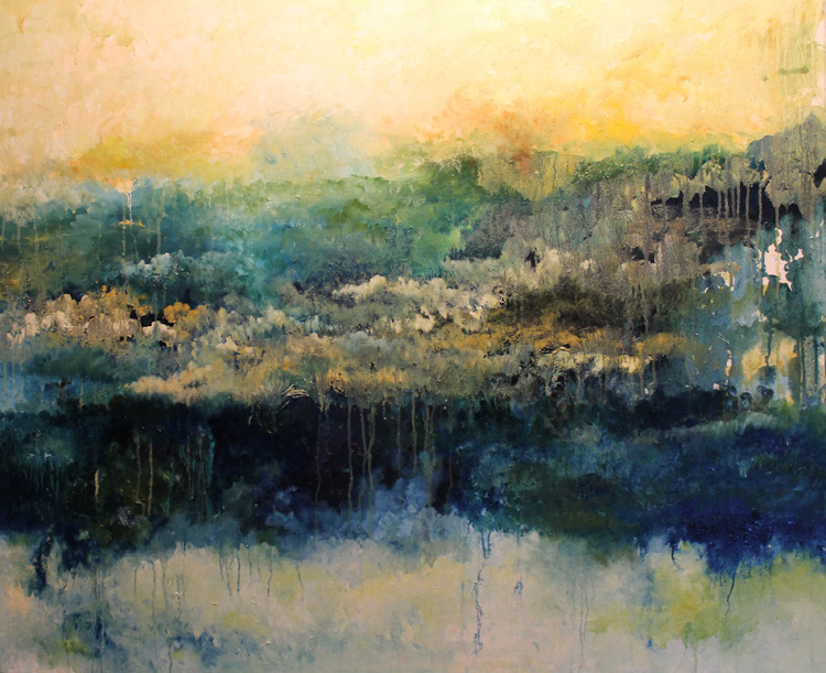 HONORABLE MENTION: Rain forest, Oil on Canvas by Thao Trang (September 2013)