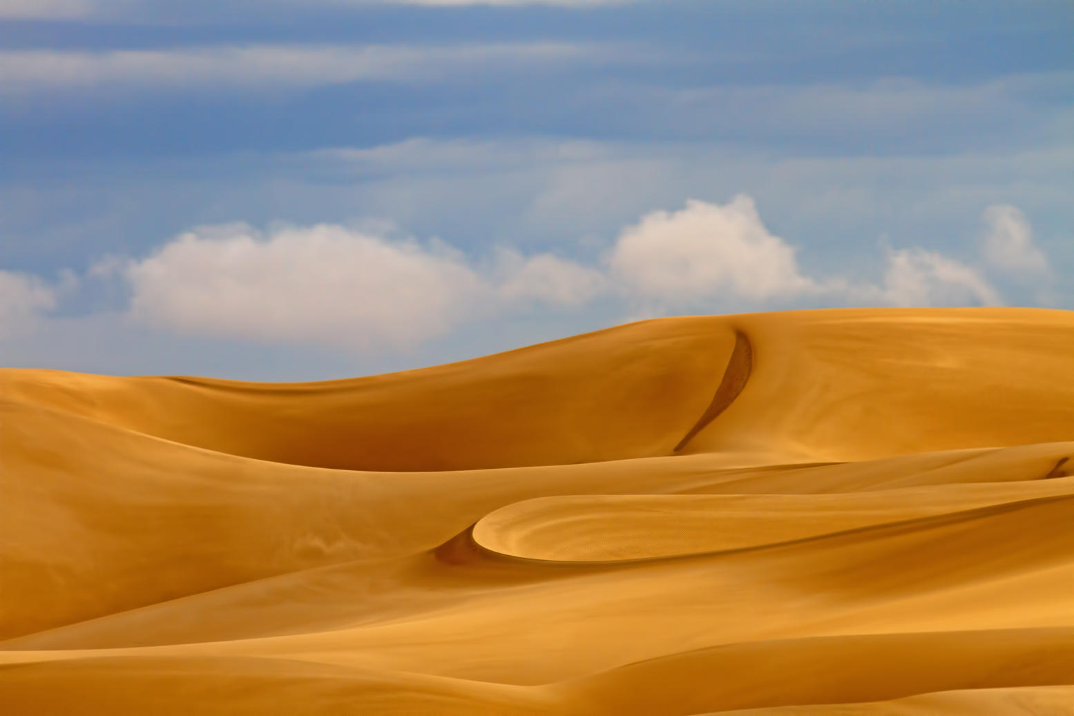 Imperial Sand Dunes, a photograph by Norma Woodward (MG: November 2013)