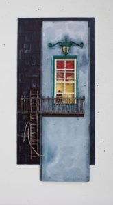 Fire Escape by Katherine Owens (CBTC June-Sept 2018)