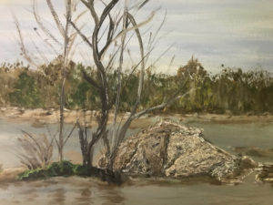 On the River by Kathleen Mullins (CBTC June-Sept 2018)