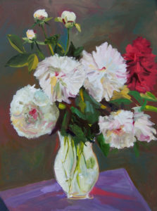 Peonies by Barbara Byrd (CBTC June-Sept 2018)