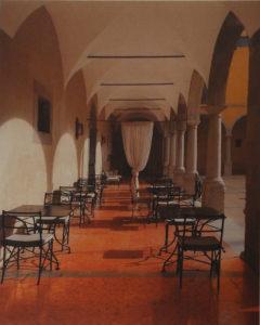 Hotel al Fresco, Portugal, Archival Metallic Photograph by Deborah D. Herndon, 20in x 16in, $175 (September 2018)