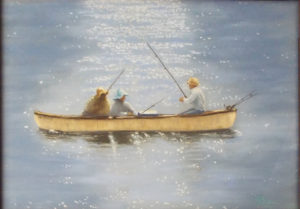 An Early Summer Morning, Pastel by Shirley Buckler, 11.5in x 16.5in, $350 (October 2018)