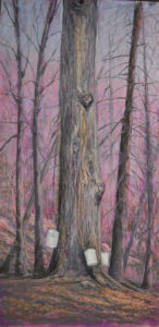 March Medley, Pastel by Lorraine Momper, 30in x 15in, $650 (October 2018)