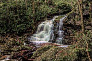 Elekalah Falls, Photography by David G. Boyd, 12in x 18in, $95 (February 2019)