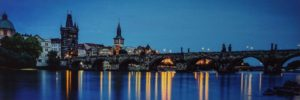 Eventide in Prague, Photography by Gregg McCrary, 12in x 36in, $200 (February 2019)
