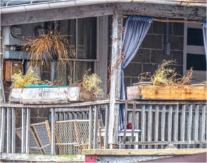 2nd Story Condo-Fredericksburg, VA, Digital Photography by Chris McClintock, 11in x 14in, $75 (May 2019)