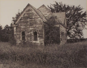 Abandoned House of Worship, Photograph by Lee Cochrane, 11in x 14in, $150 (May 2019)