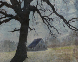 Arkansas Farm, Photo Montage by R. Taylor Cullar, 8in x 10in, $75 (May 2019)