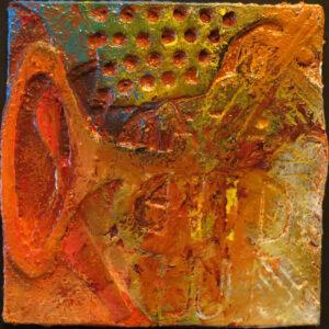 Clark Terry - CD, Oil on Paper by Ronald J. Walton, 12in x12in, $500 (June 2019)