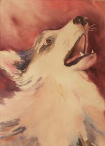 Let Your Voice be Heard, Watercolor by Amanda Lee, 18.75in x 13.50in, NFS (July 2019)