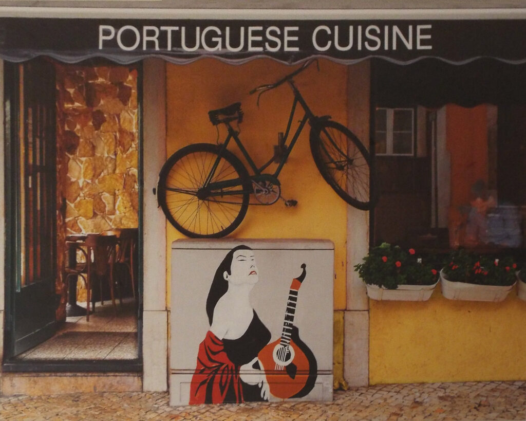 HONORABLE MENTION: Fada & Food, Portugal, Archival Metallic Photo by Deborah Herndon, 16in x 20in, $179 (August 2019)