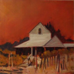 Summer Retreat, Oil by Marcia Chaves, 20in x 20in, $450 (August 2019)