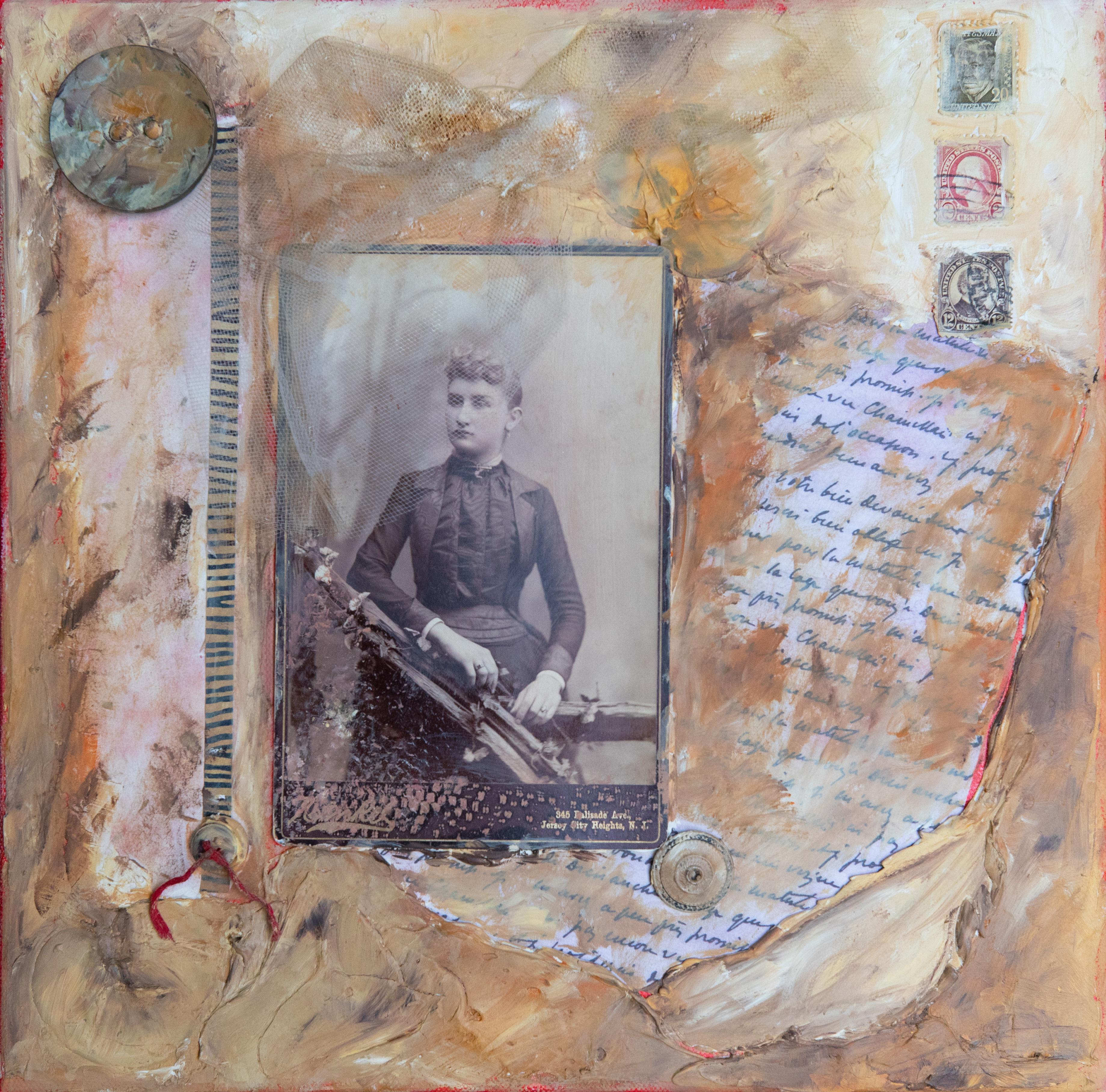 Avec Tendresse, work by Toni Scott (MG: August 2019)