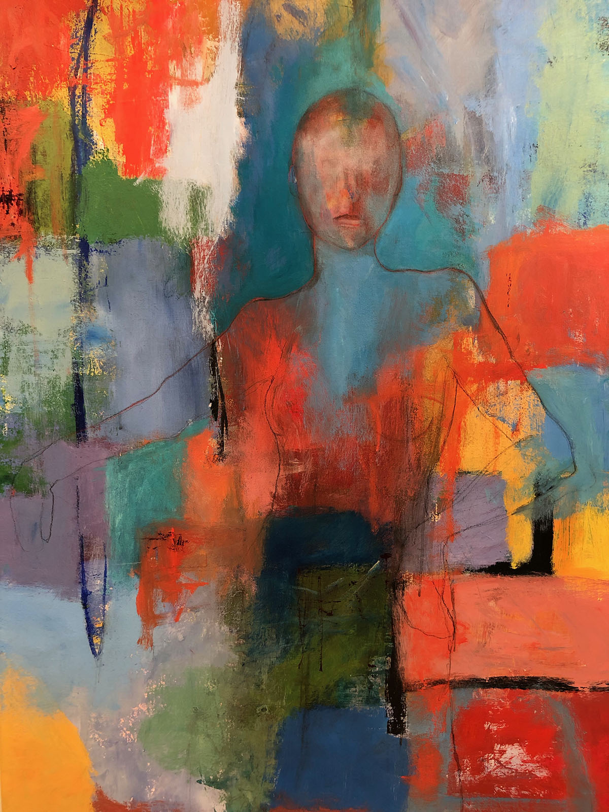Stay Calm work by Susan Tilt (October 2019)