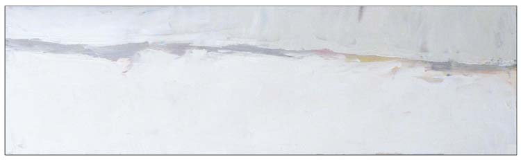 FIRST PLACE: After the Snow, Oil by Ana Rendich (Dec. 2013-Jan. 2014)
