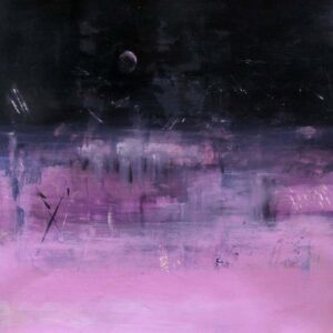 Silent Night, Acrylic by Barbara Taylor Hall (November 2013)