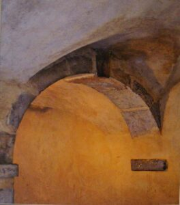 Traboule Arch Lyon-Metallic Photo Ltd Ed by Deborah Herndon (Dec. 2013-Jan. 2014)