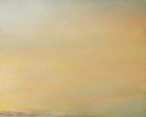 Sunrise on the Chesapeake, Oil on Canvas by Elizabeth Shumate (November 2013)