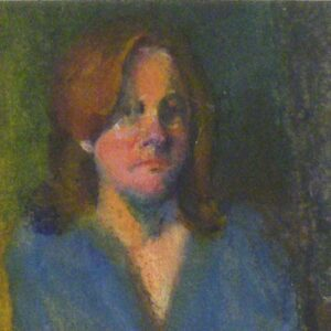 My Usual, Oil on Paper by Frances Yates  (Dec. 2013-Jan. 2014)