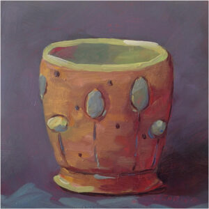 Virginia Mug, Oil on Panel by Kris Rehring (Dec. 2013-Jan. 2014)