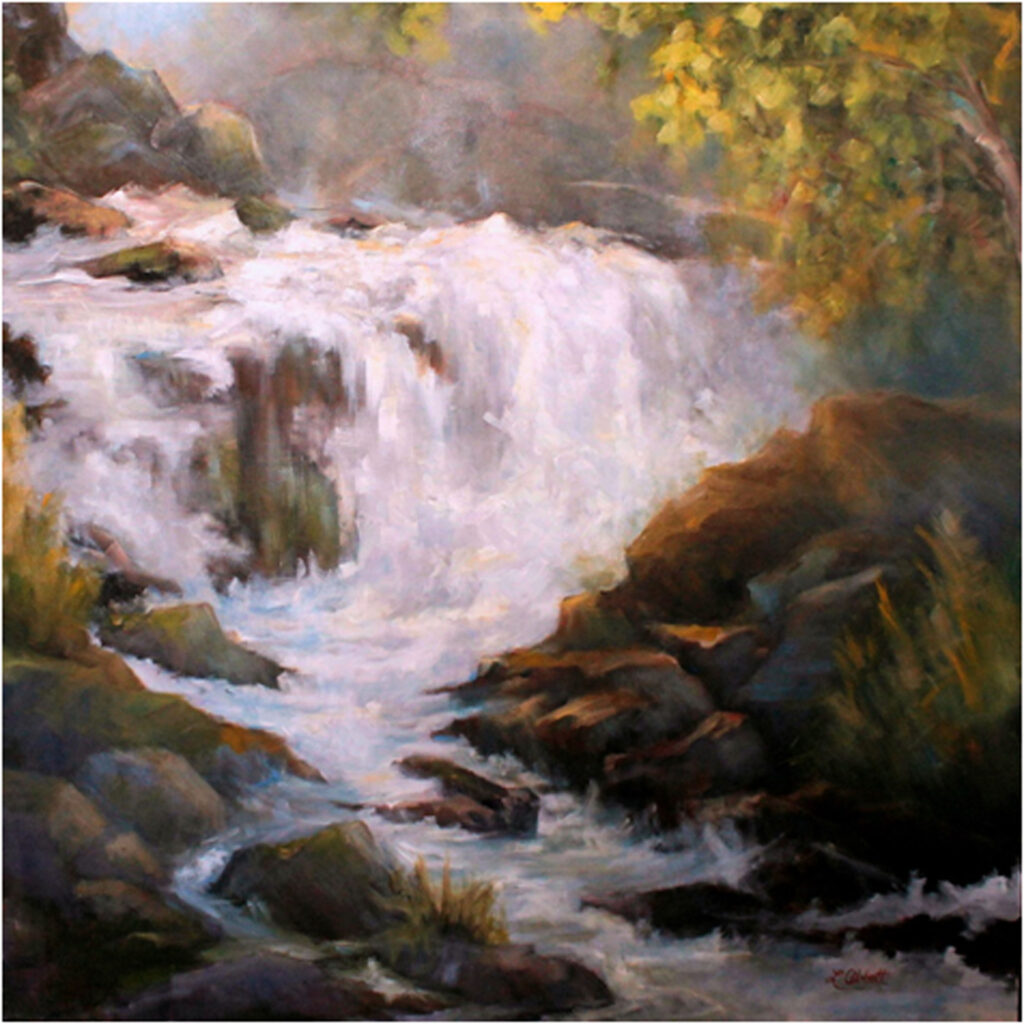 SECOND PLACE: More Than Abundant, Oil by Lynn Abbott, 48in x 48in, $5760 (November 2019)