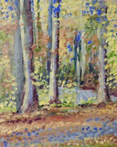 Fall Driveway-Oil on Panel by Tom Smagala (Dec. 2013-Jan. 2014)
